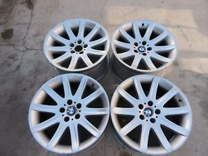 Oem Genuine Bmw E65 7 Series Bbs Style 95 Set Of 4 Staggered Wheels N A