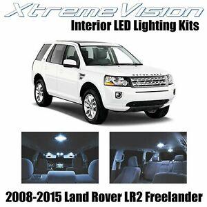 Xtremevision Led For Land Rover Lr2 Freelander Suv 2008 2015 8 Pieces Cool Whi