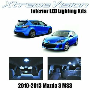 Xtremevision Led For Mazda 3 Ms3 2010 2013 Sedan Hatch 7 Pieces Cool White Pre