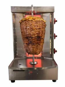 Shawarma Machine Vertical Broiler By Spinning Grillers Sg2 3 Burners Ng