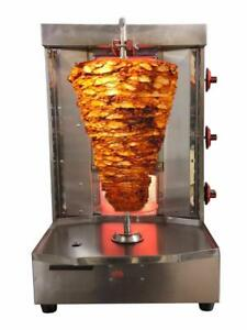 Shawarma Machine Vertical Broiler By Spinning Grillers Sg2 3 Burners Lpg