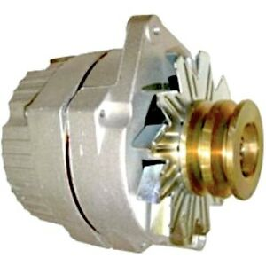 New Delco Tractor 24 Volt Replacement Alternator 1 Wire With Wide Double Pulley