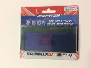 Techniweld Seer Solar Auto Welding Lens 2x4 Shades 9 10 11 Or 12 Shade 3 Off