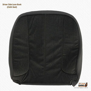 2004 Dodge Ram 1500 2500 3500 Slt Driver Lean Back Dark Gray Cloth Seat Cover