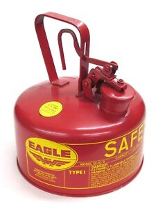 New Eagle 1 gallon Type I Safety Gas Can Ui 10s
