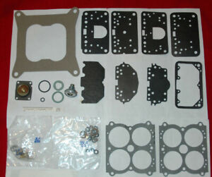 1972 76 Holley 4 Barrel Carb Kit Lincoln 429 460 Eng Ethanol Tolerant