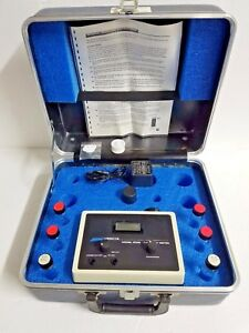 Lamotte 2008 Turbidity Meter W Case Power Supply Instructions
