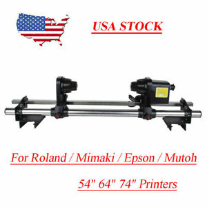 Printer Auto Media Roller Paper Take Up Reel System Roland Sp540 Sp540v Vp540 Us