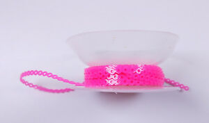 Dental Orthodontic Power Chain Elastic Chains Pink Rubber Band Tie 15ft 4 57m
