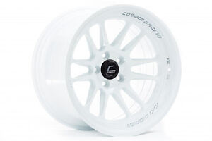 Cosmis Racing Xt206r 18x9 5 10 18x11 8 5x114 3 Gloss White Concave Staggered