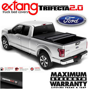 Extang Trifecta 2 0 Tri Fold Tonneau Cover Fits 2015 2020 Ford F150 6 5ft Bed