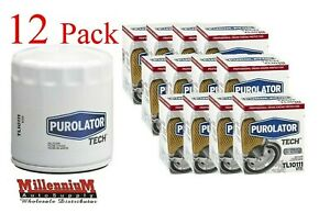 Purolator Tech Oil Filter Tl10111 12 Pack Fits Ph3387a 51040 V1111