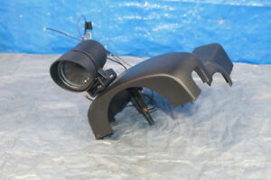 08 14 Subaru Wrx Sti Upper Clamshell W Glowshift 30psi Boost Gauge And Mount
