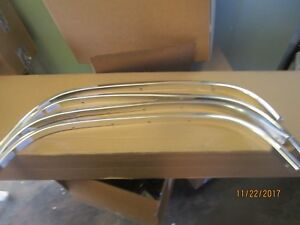 88 98 Chevy C K Pickup Truck Chrome Fender Trim Molding 1500 2500 3500