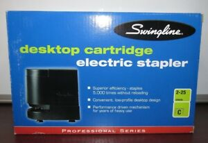 Swingline Desktop Cartridge Electric Stapler 14d