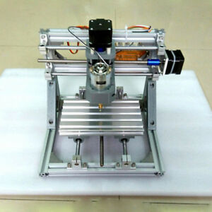 New Mini 3 axis Router Engraver Diy Pcb Pvc Milling Wood Carving Cnc Machine