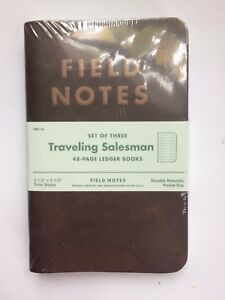 Field Notes Traveling Salesman Sold Out Brand New Sealed