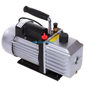 Single Stage 5cfm Rotary Vane Deep Vacuum Pump Hvac Tool For Refrigeration A c