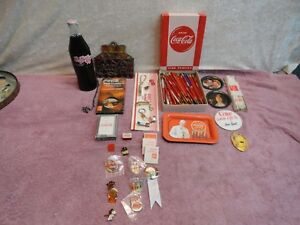 Vintage Coca-Cola Collectible Items Being Sold As 1 Lot With *FREE SHIPPING*