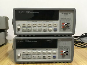 Used Agilent Hp Keisight 34420a 7 Digit Nano Volt Micro Ohm Meter