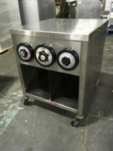Stainless Steel Soda Fountain Equipment Stand W Cup Dispensers Send Best Offer