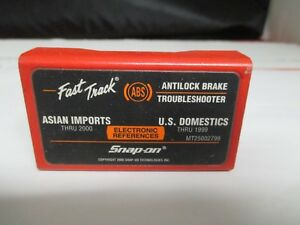 Snap On Mt25002799 Abs Troubleshooter Cartridge Asian Domestics Mt2500 Scanner