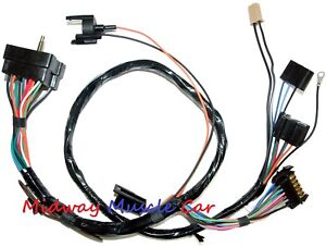 Dash Instrument Cluster Wiring Harness 70 71 Chevy Camaro Ss Rs ss Z 28