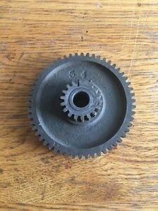 Southbend Lathe Compound Gear 54t 18t With Bushing