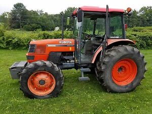 Kubota M9000 Dtc 4wd Tractor With Cab A c Heat Stereo