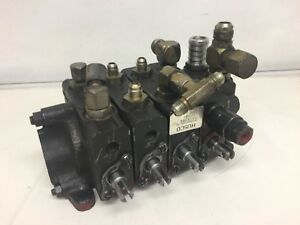 Husco 4 spool Hydraulic Directional Control Valve model 5000 d89k hyster S50xl