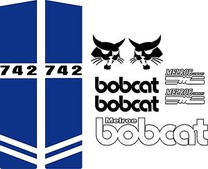 742 C Repro Decals Decal Kit Sticker Set Us Seller Free Shipping Fits Bobcat
