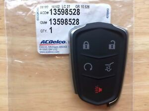 2015 2017 Oem Cadillac Srx Smart Keyless Entry Remote Fob Transmitter 13598528