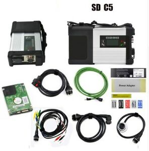 Top Quality Mb Star C5 Diagnostic Tool With Latest 2018 Newest Software