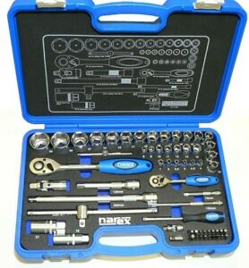 Narex Professional Socket And Wrench Set 1 4 1 2 Fully Set Factory New