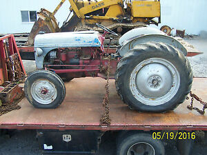 Ford 8n Tractor With Side Mount Distributor Think 1951 0r 1952