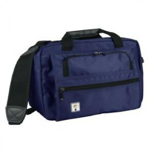 Deluxe Medical Bag Nurse Healthcare Supplies Laptop Storage Zippered Pockets New