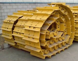 Komatsu D65ex 15 Track Groups Lubricated Chains W 24 Pads Shoes Both Sides