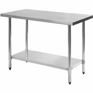 Stainless Steel Work Prep Table 24 X 36 New