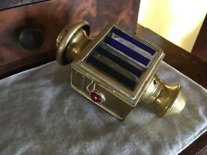Antique Brass French Auto Summa Levallois Perret Car Headlight House