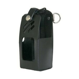 Boston Leather 5609rc 1 Plain Black Radio Holder For Harris Xg 75