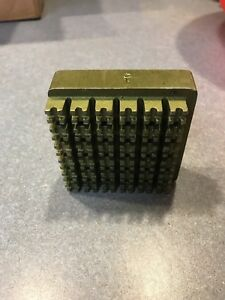 Hobart Power Dicer Attachment Grid Plate Assy 1 4