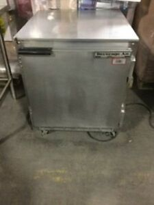 Beverage Air Single Door Under Counter Cooler On Casters Send Best Offer
