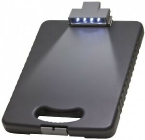 Led Light Tablet Clipboard Case Forms Holders Flexible Security Bands Documents