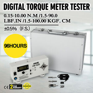 New In Box Torquemeter 1 Pc Hp 100 Digital Torque Meter Torsiometer
