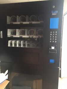 Seaga Combo Soda Snack Vending Machine