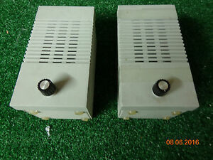 Orbacom Calida Centracom Police Fire Dispatch Console Speakers With Cable A24