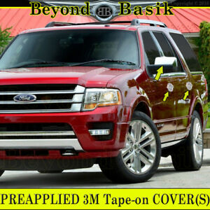 2007 2017 Ford Expedition Chrome Door Handle Covers W o Psk mirrors