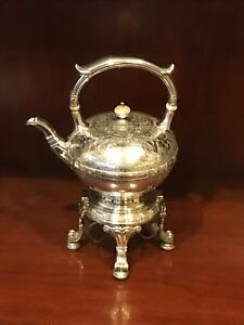 Gorham Sterling Silver Teapot Stand 1918 St Dunstan S Chased 63 Oz