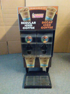 Bunn Icdd 3 Coffee tea Holder dispenser W 3gal Tank