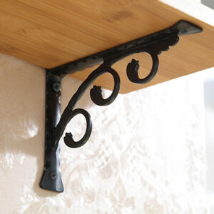 2pcs Wall Hanging Heavy Duty Shelf Bracket For Home Store Bar Hotel 15x12cm
